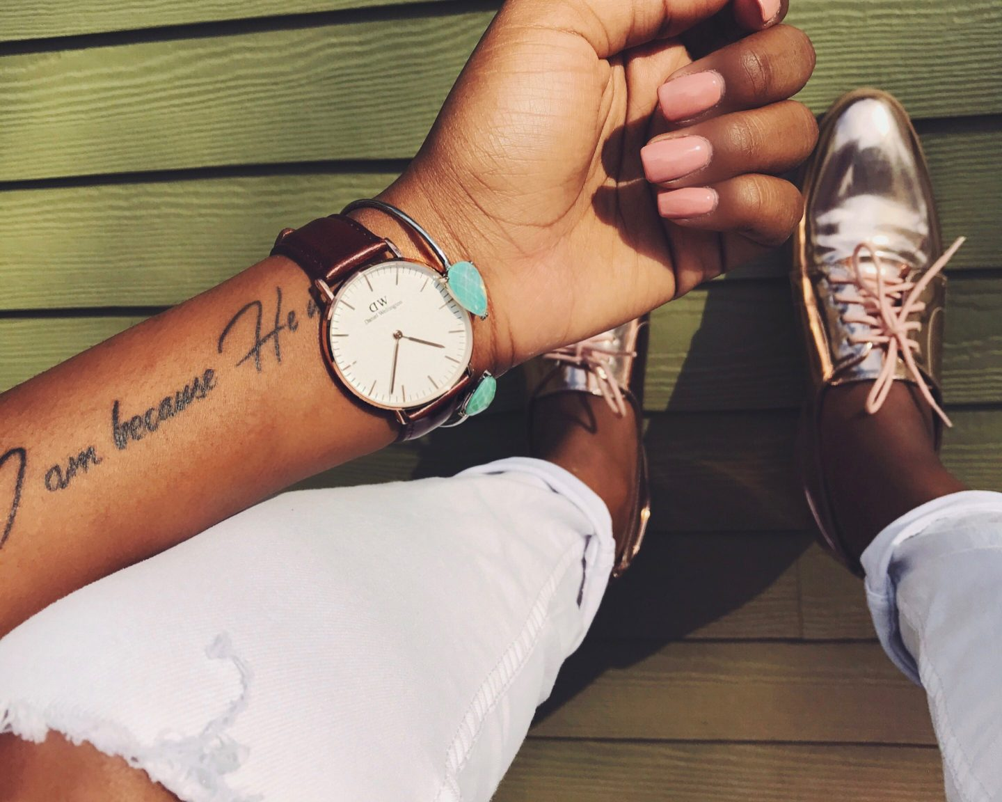 New Spring Accessories ft. Daniel Wellington Watch Wear